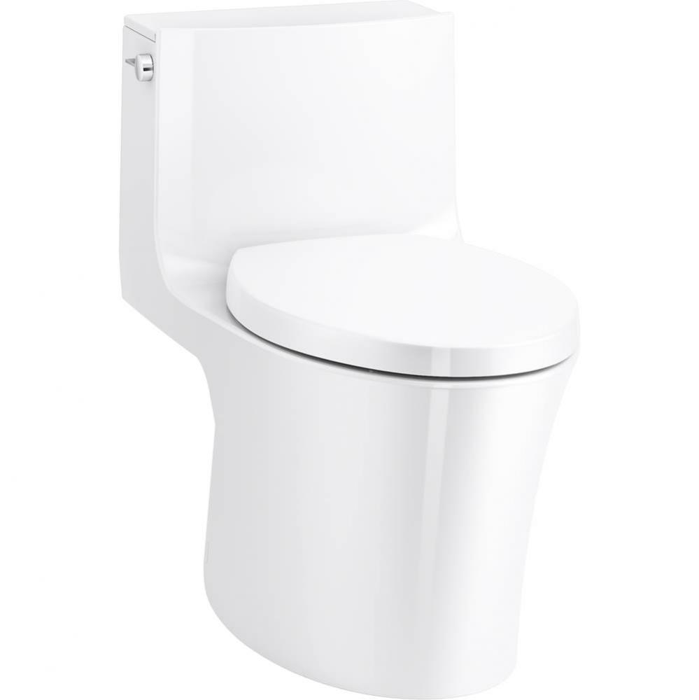 Veil One-piece Elongated Dual-flush Toilet With Skirted Trapway