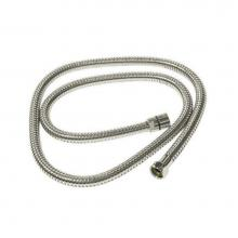 Rohl 16295PN - Rohl Flexible Metal Hose 59'' Or 1500Mm Standard Length Double Spiral 1/2''F