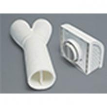 Panasonic Canada FV-WC04VE1 - Exterior Wall Cap with Y-Shaped adaptor- for use with WisperComfort and Intelli-Balance