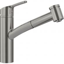 Franke Residential Canada FFPS3680 - Smart Pull Out Kitchen Faucet, Satin Nickel