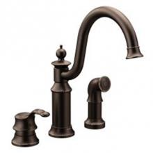 Moen Canada S711ORB - Oil rubbed bronze one-handle high arc kitchen